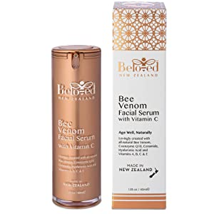 Beloved Bee Venom Anti-aging Moisturizing Facial Serum with Vitamin C Natural Serum for Face and Natural Anti Aging
