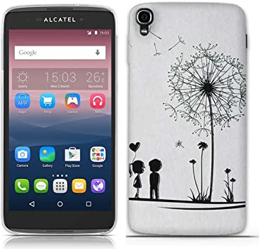 FUBAODA para Alcatel One Touch Idol 3(5.5 Inch) Moda Patrón ...