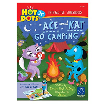 Educational Insights Hot Dots Jr. Storybooks- Ace and Kat Go Camping, Set Of 6: Toys & Games