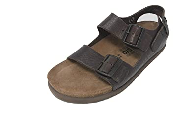 4cea816c34 Image Unavailable. Image not available for. Color: Mephisto Men's Nando  Sandal Size EU 41 US 7 Dark Brown