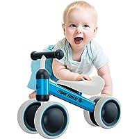 YGJT Bicicletta Equilibrio Bambino Bicicletta Baby Walkers Giocattoli per Ragazzi e Ragazze Interno All'aperto per 1-2 Anni(10-24 Mesi) Mesi Camminatore per Bambini Senza Pedali