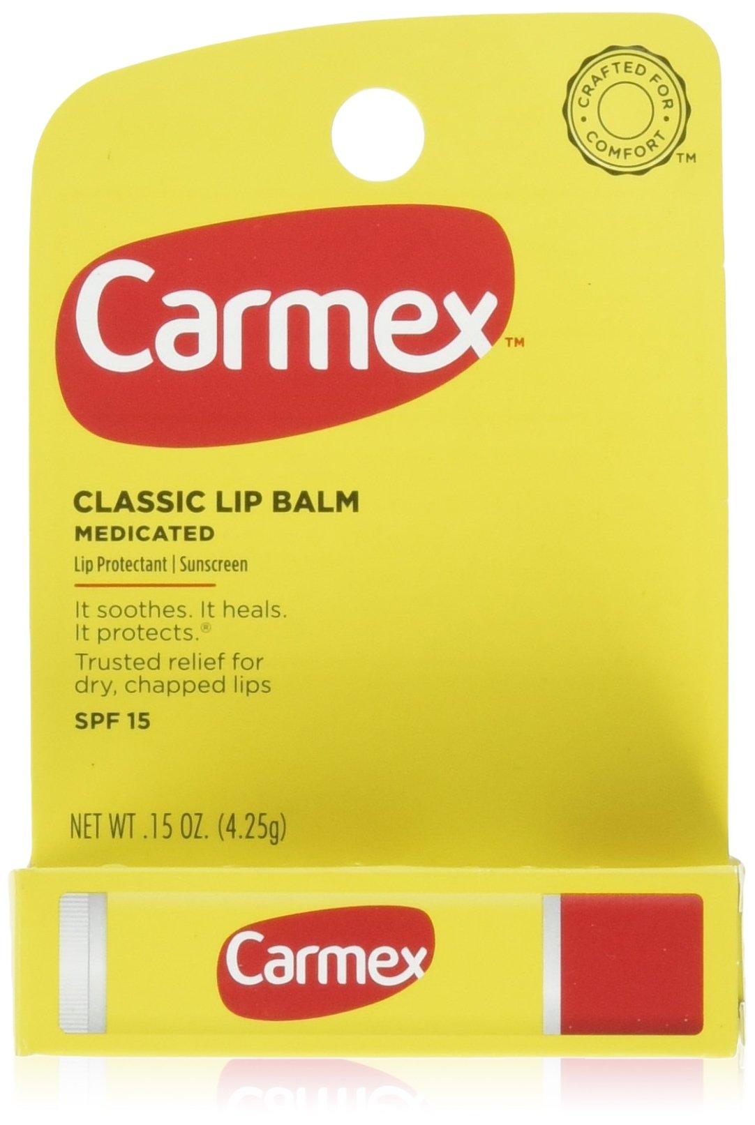 Carmex Lip Balm, Moisturizing, Original 6 Count by Carmex