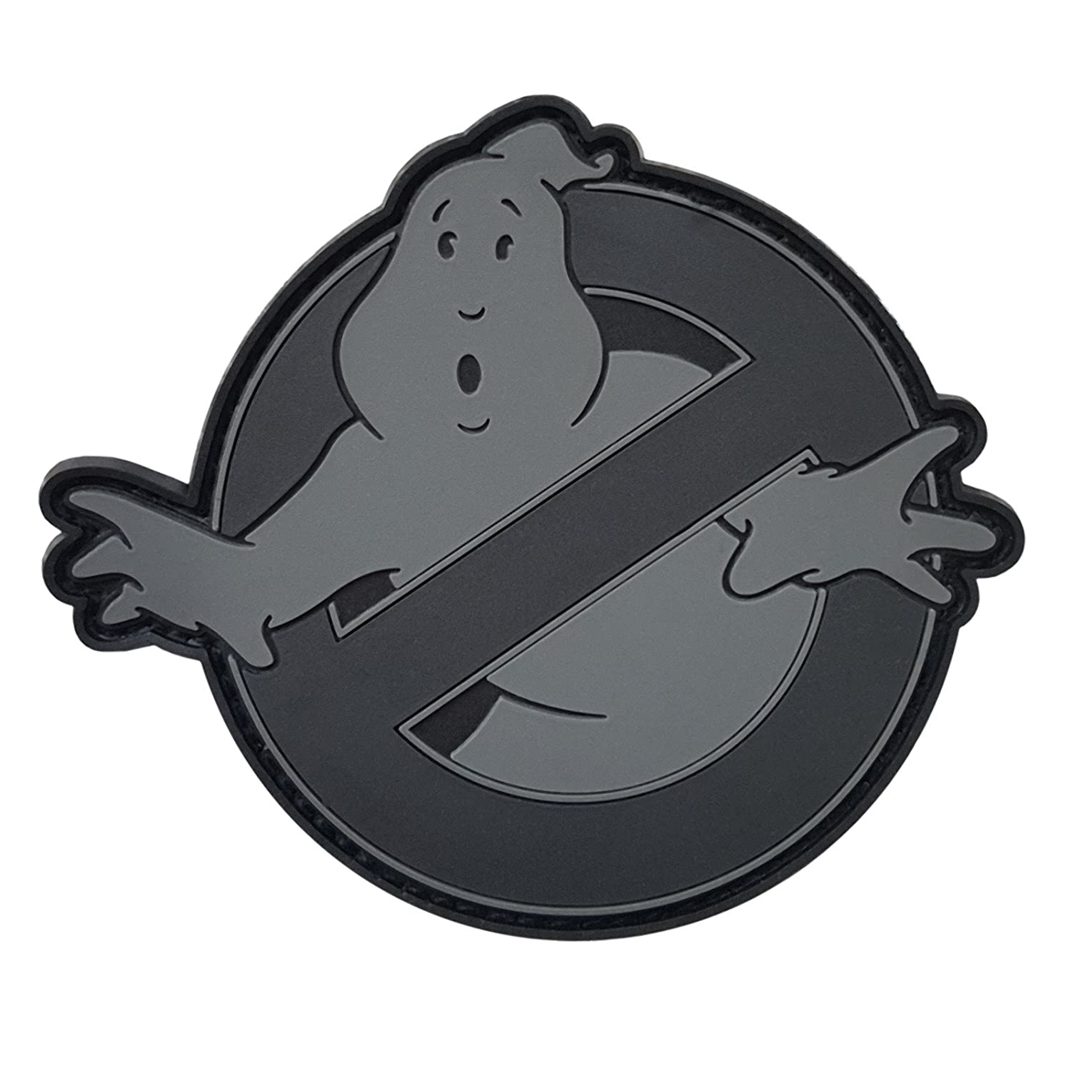 ACU Ghostbusters No Ghost Subdued Cosplay Movie PVC Rubber 3D Fastener Patch 2AFTER1 P.1771.2.V