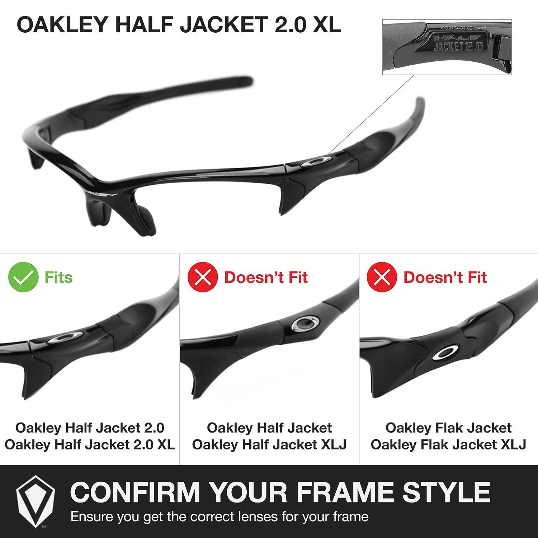 Revant Ersatzlinsen für Oakley Half Jacket 2.0 XL Bolt Gold ...