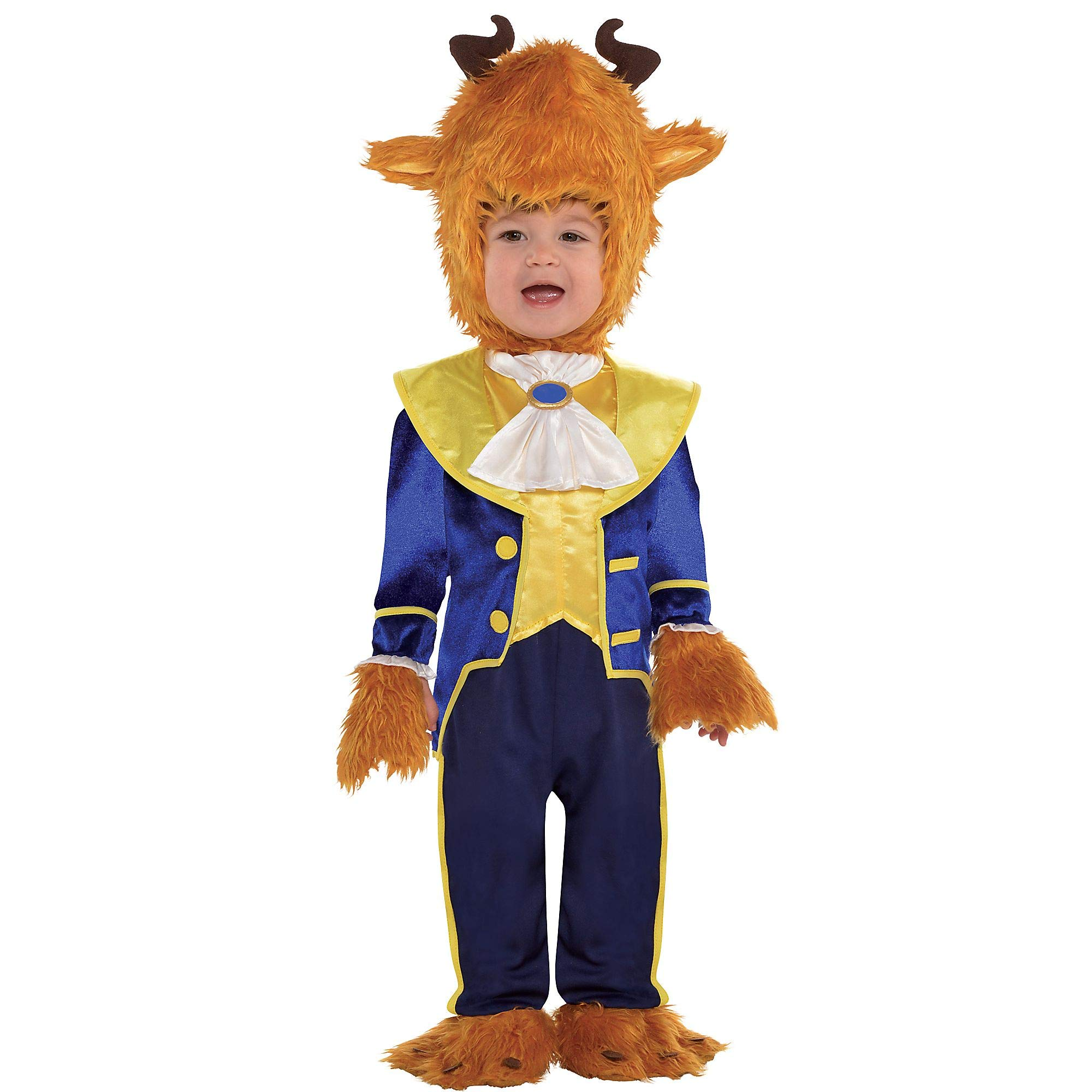 Suit Yourself Beauty and the Beast Beast Costume for Babies, Size 6-12 Months, Includes a Jumpsuit, Booties, and More