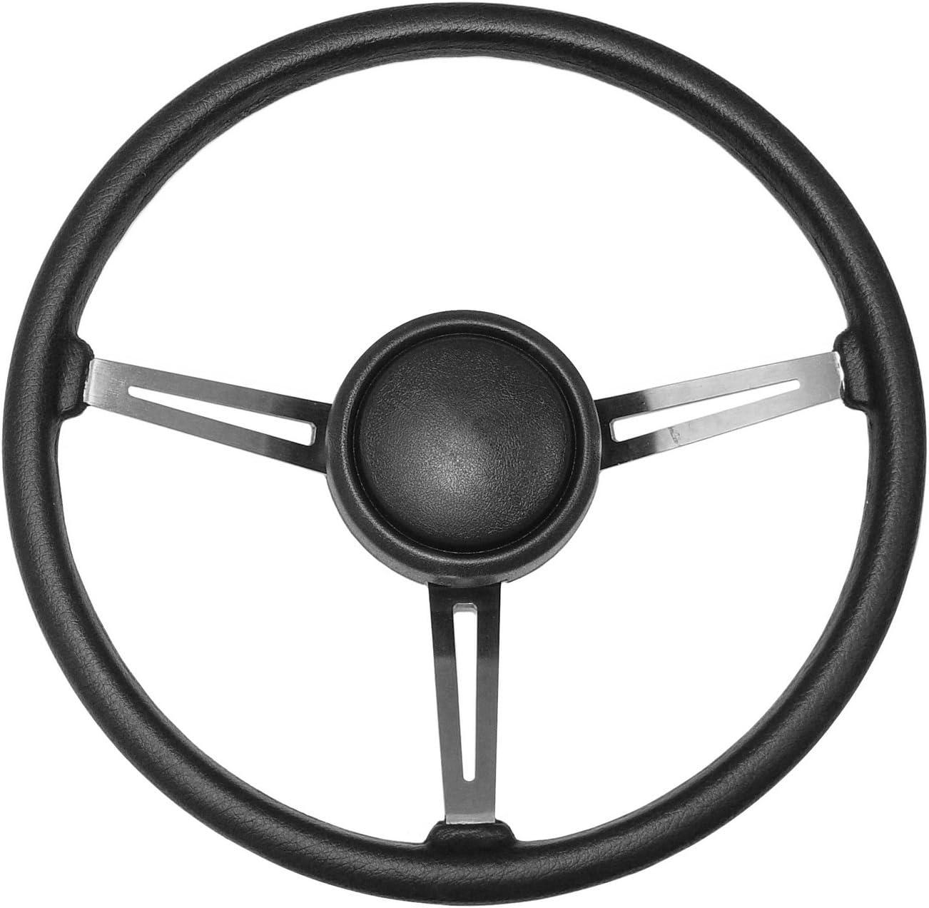 Omix-ADA Steering Wheel Sport Leather Black Jeep XJ//YJ 18031.11