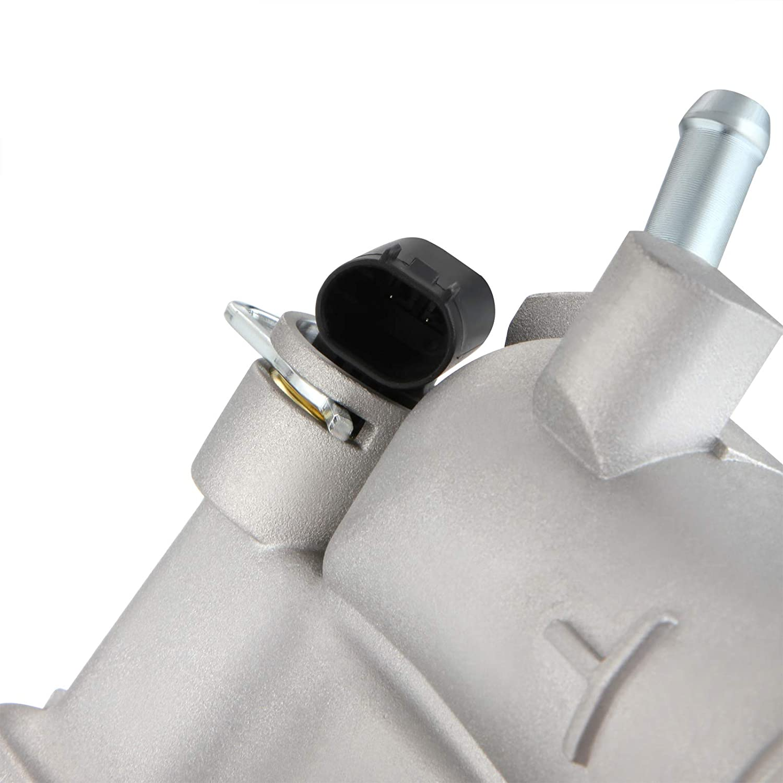Dromedary 6112000015 Thermostat K/ühlmittel Thermostatgeh/äuse C-Klasse W202 T-Model S202