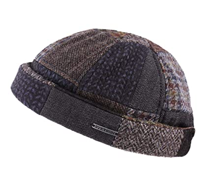 227e3930eae Stetson - Beanie Men Docker Patchwork - Size L: Amazon.co.uk: Clothing