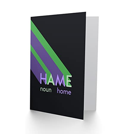 Amazon wee blue coo ltd scottish word definition hame home wee blue coo ltd scottish word definition hame home scots dictionary greetings card m4hsunfo