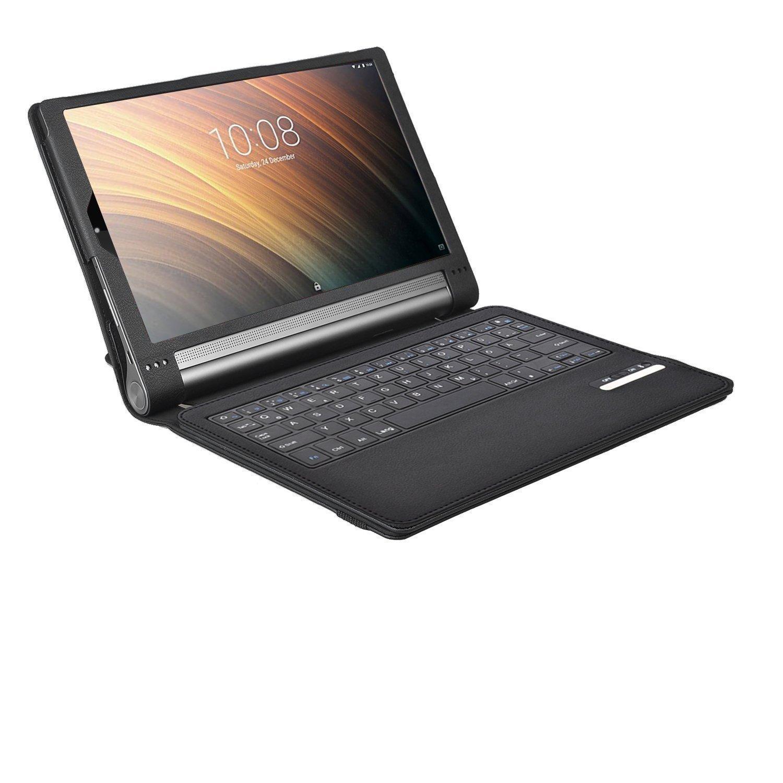 Lenovo YOGA Tab3 Plus Funda, iBetter Funda de Cuero con ...