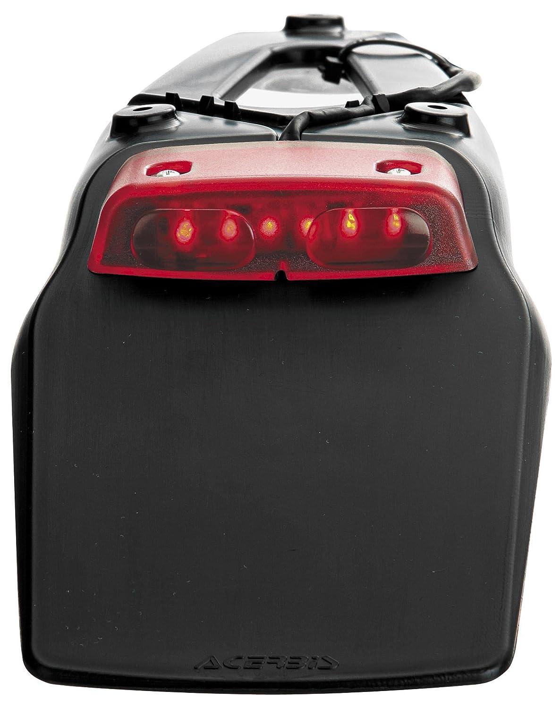 Bavette universelle feu arriè re acerbis led enduro 2044390001