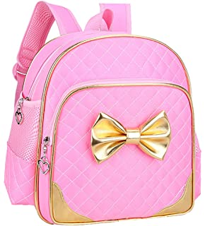 Fanci Bowknot Princess Style Toddler Kids School Backpack Bookbag for Girls  Pre School Kindergarten … fed1fa081ae19