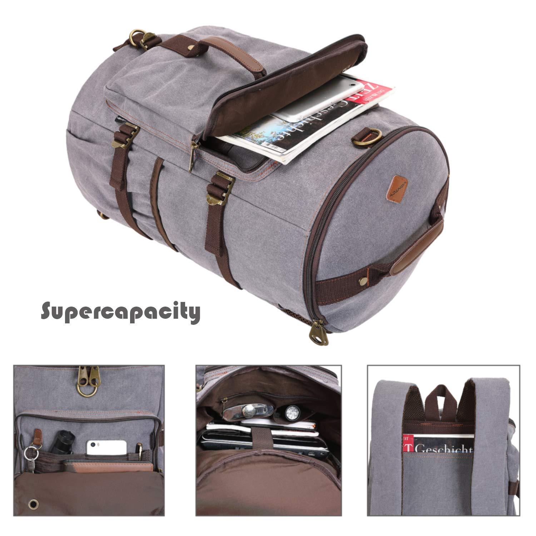 8376df4138f Ventcy Hand Luggage Backpack Man Holdall Travel Duffle Bag Women Weekend  Bag 30L Gym Bag Rucksack Travel Bag Multifunction 4 in 1 15.6 Inch Laptop  Backpack ...
