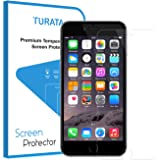 iPhone 7 Schutzfolie - TURATA 0.3mm 9H Härte Hartglas Blasenfrei Design Displayschutzfolie Hightech High Definition 3D Touch Wasserdicht Staubdicht Screen Protector
