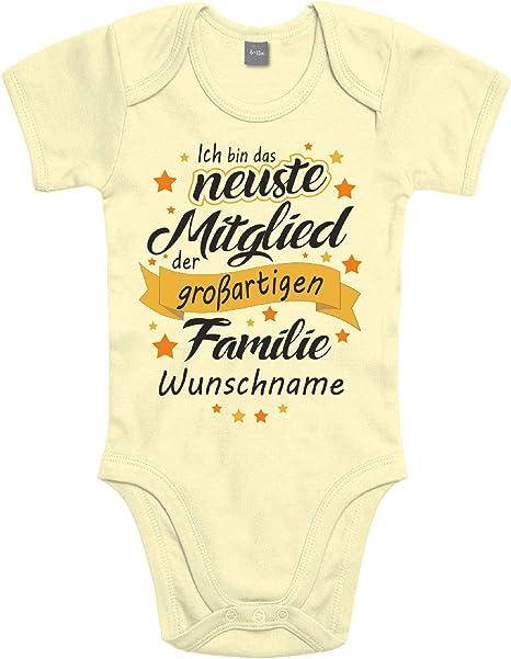 Papa Mama Strampler Baby Body Babybody Gemeinschaftsprojekt MIT Wunschnamen