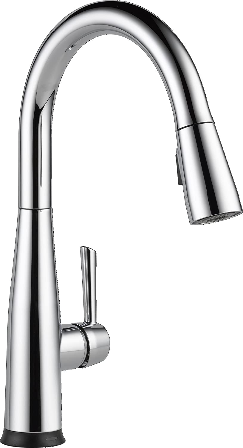 Delta Faucet 9113t Dst Essa Single Handle Pull Down Kitchen Faucet