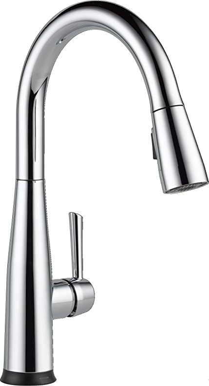 Delta Faucet 9113T DST Essa Single Handle Pull Down Kitchen Faucet With  Touch2O Technology