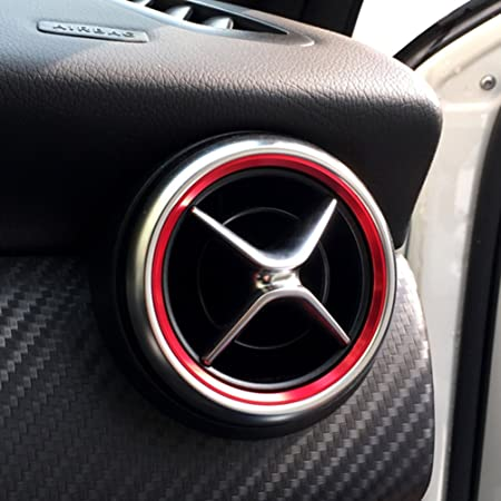TAOHOU Car Air Condition Air Vent Outlet Ring Trim Decoration for ...