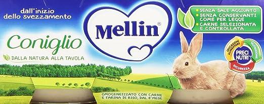 4 opinioni per Mellin Omog. 80Grx2 Coniglio