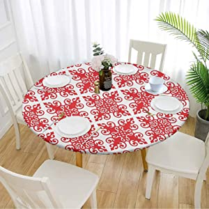 Red Picnic Table Cover 40