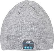 Finalmente possiamo dire addio a quegli scomodi auricolari, con e senza filo! Questo fantastico e caldo cappello incorpora cuffie e microfono bluetooth! Una perfetta idea regalo!