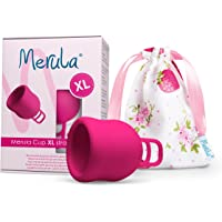 Merula Cup XL Strawberry (pink) Menstrual Cup for Very Strong Days