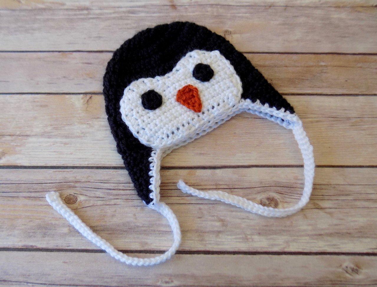 Amazon Penguin Hat Baby Penguin Hat Baby Animal Hat