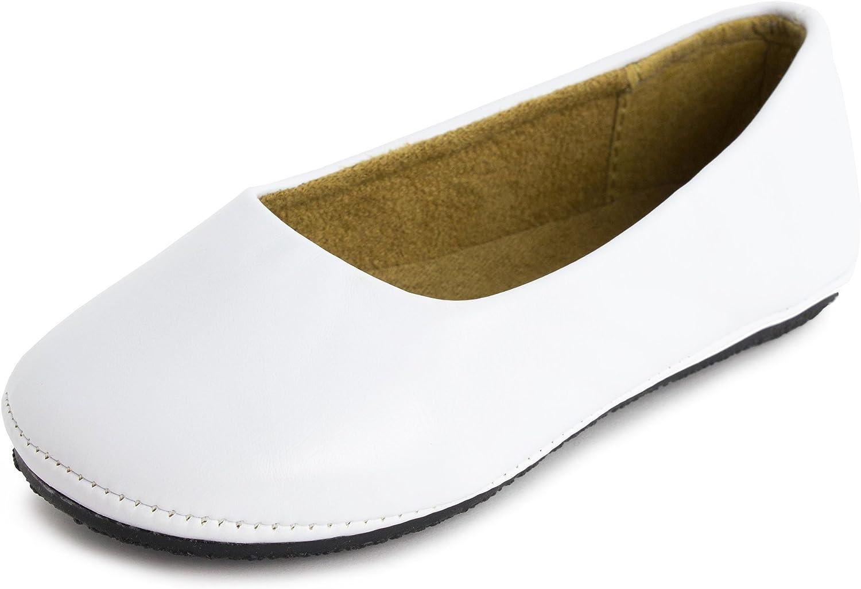 Round Toe Ballet Flat Kali Footwear Girls Pala Jr