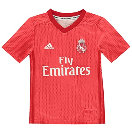 dd4bda23a60 Amazon.com   adidas 2018-2019 Real Madrid Third Football Soccer T ...