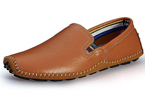 Lapens Lplfs8503 - Mocasines de Piel para hombre negro negro: Amazon.es: Zapatos y complementos