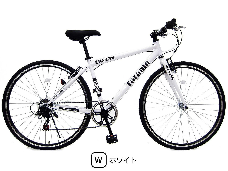 新しいコレクション ターラント (TARANTO) 430mm (TARANTO) シマノ6段変速 クロスバイク スポーツ用自転車 ホワイト B0793PVCH7 430mm B0793PVCH7, 奈井江町:ea100a85 --- greaterbayx.co