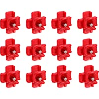 Konesky Automatic Poultry Nipples Chicken Water Drinker Horizontal Side-Mount Installation 12 Pack