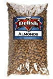 Gourmet Whole Raw Almonds by Its Delish, 5 lbs Bulk