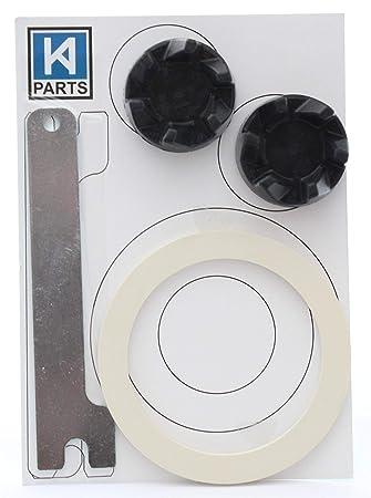 2 x Acoplador 9704230 para batidora KitchenAid + 1 x llave + junta ue: Amazon.es: Hogar