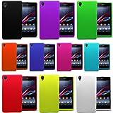 Accessory Master 5055716360264 Silikon-Hülle Set für Sony Xperia Z1 L39h C6903 (10-er Pack) rosa/schwarz/weiß/rot/grün/blau/gelb/sky/blau/orange