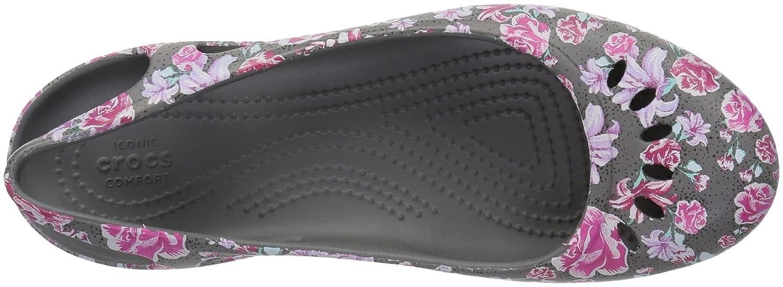 Crocs Womens Kadee Graphic Slingback W Ballet Flat