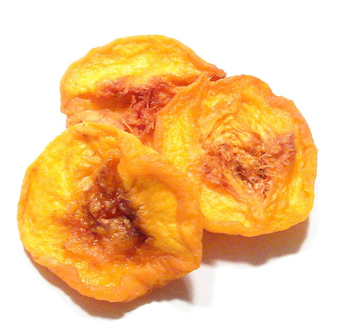 Peach Slices, Dried-2Lb- Dried Peach Fruit by Denver Spice