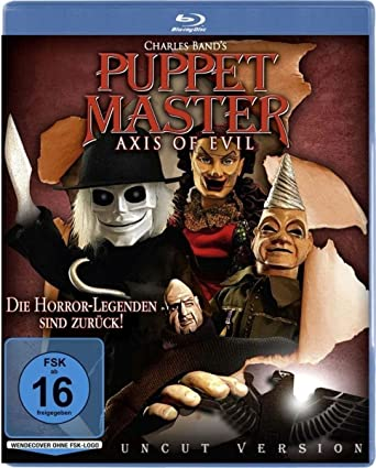puppet master axis of evil blu ray