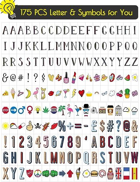 Amazon.com: Letrero con letras en forma de caja de ...
