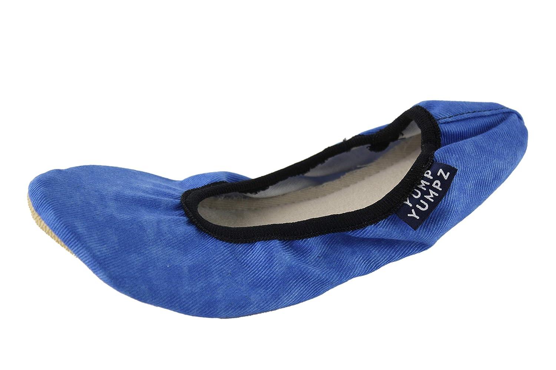 chaussons de danse chaussons de ballet ballerines en diff/érentes pointures. POIS ROSES # 13/Rose/-/Chaussures de gymnastique en coton/-/YUMPZ YUMPZ demi-pointes