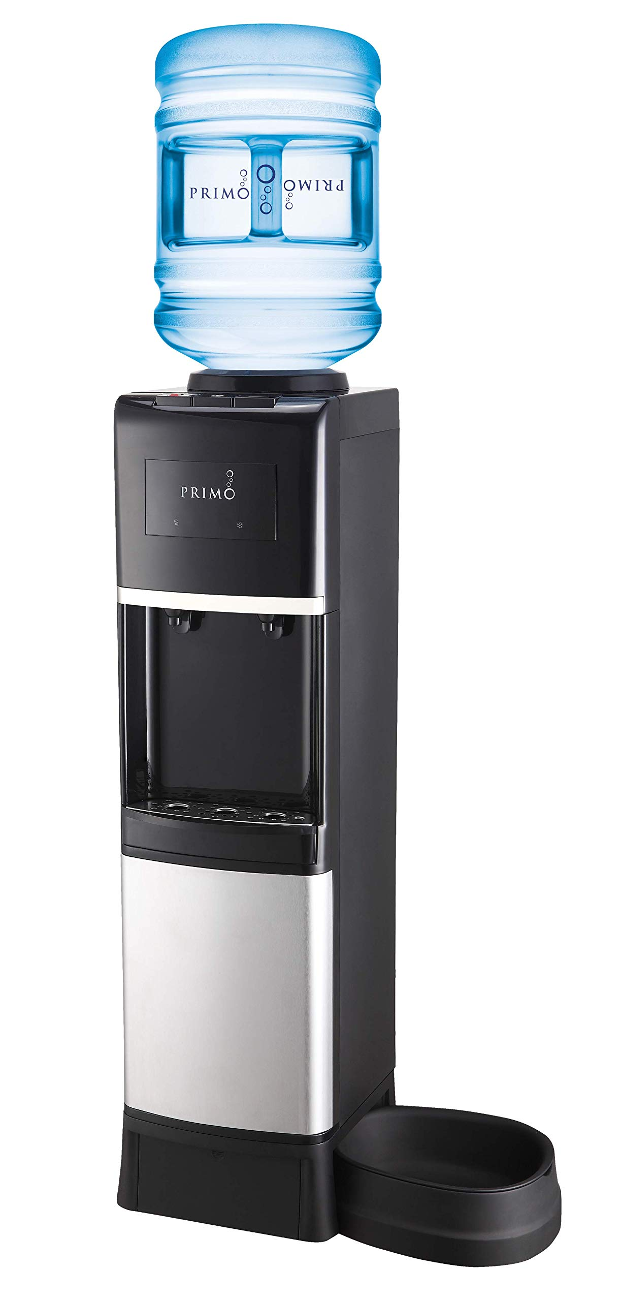 Primo Deluxe Top Loading Hot/Cold Water Dispenser with Pet Station by Primo Water