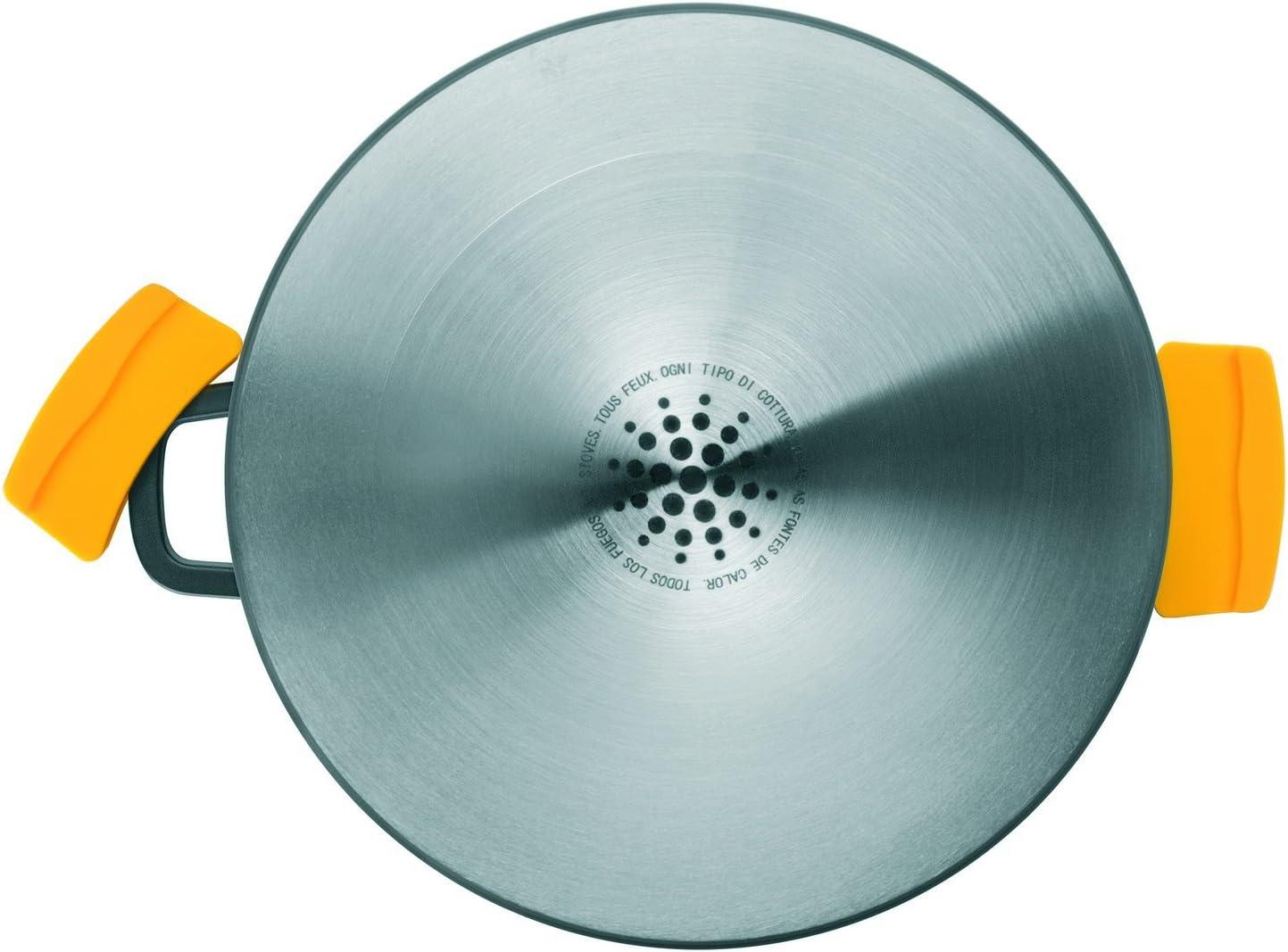 Ibili 461120 – Olla con tapa Evolution, aluminio fundido, forja ...