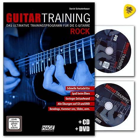 Guitar Entrenamiento Rock – Programa de entrenamiento definitiva para la guitarra eléctrica de Schuster Bauer –
