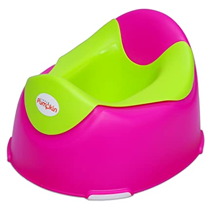 7cff52bc48e Buy Little Pumpkin Kiddie Kingdom Plastic Potty Seat (Red   Green) Online  at Low Prices in India - Amazon.in