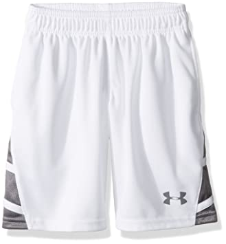 under armour shorts. under armour boys\u0027 triple double shorts, white/graphite, youth x-large shorts