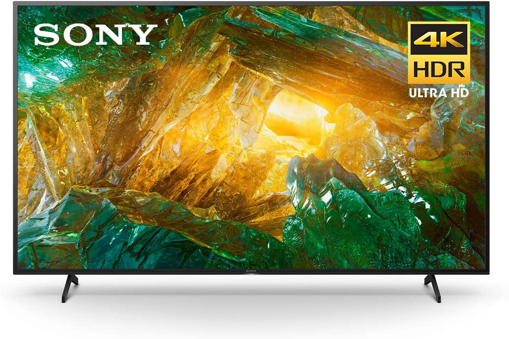 Sony X800H TV Dimensions, Weight and Power Consumption Comparison
