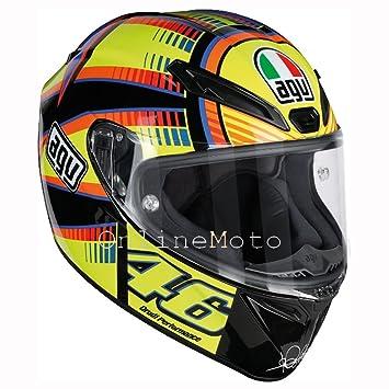 AGV Veloce S Soleluna Rossi 46 Motorcycle Helmet