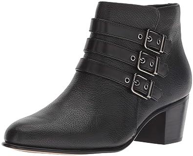 Boot Rayna Maypearl CLARKS Women's 050 Tumbled Black Fashion Leather w1Iwzx