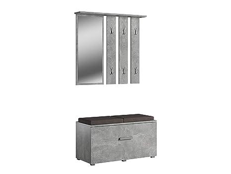 Mobili Per Corridoio E Ingresso : Set di mobili per corridoio ingresso scarpiera specchio appeso