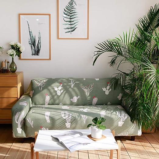 ENZER Funda de Sofa Elastica Ajustables Cubre Sofas ...